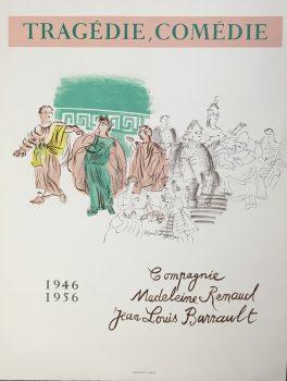 Raoul-Dufy-Tragedie-Comedie-Original-Poster-Art-1956351