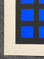 "Ian Tyson Diversions VIII 1967 Signed Limited Edition Silkscreen 15"" x 15"""