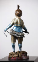 Charles Bragg  Zelda By Appointment Only – 1989 Bronze Sculpture