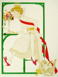 Philippe Noyer Princess Elodie And The Ice Cream Original Lithograph