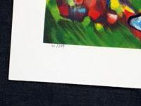 Raya Sorkine Wedding Scene 1999 Signed  Limited Edition Lithograph