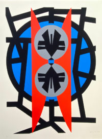 """Jimmy Ernst  Plate II 1970 Signed Modern Art Limited Edition Silkscreen 28"""" x 37"""""""