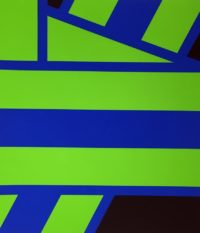 Pierre Clerk Plate II Green 1973 Signed Limited Edition Large Silkscreen