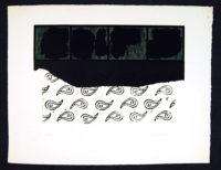 Harvey Daniels 1965 Original Signed Lithograph Vintage Pop Art