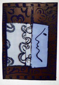 Harvey Daniels 1966 Original Signed Lithograph Vintage Pop Art