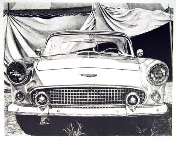 james farrah classic car print