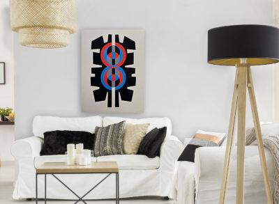 Jimmy-Ernst--Plate-V-1970-Signed-Modern-Art-Limited-Edition-Silkscreen-