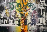 Romare Bearden Introduction for a Blues Queen Jazz Series 1979 Original Art