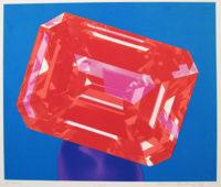 Richard-Bernstein-Ruby-1978-Art-Print-Silkscreen305