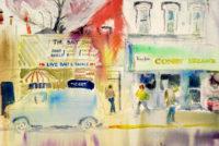 Sam Karres – Ecorse Michigan – Original Watercolor Painting on Paper