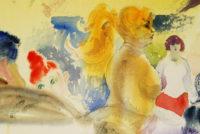Sam Karres- Untitled #2 – Original Watercolor Painting on Paper