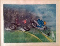 Roberto Matta – Motorcycle – Les Transports Sports Series