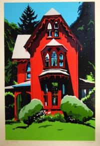 Jon-Carsman-Faded-Glory-1978-Art-Print-Silkscreen318