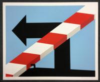 Allan D'Arcangelo Signed Art Silkscreen US Highway #1 1978 Original