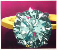 Richard-Bernstein-Diamond-Ring-1977-Pop-Art-Silkscreen-Print-on-Heavy-Paper_20170312_5267