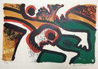 Bengt Lindström – Viking – Signed Print Lithograph