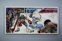 Sam Karres- Knockout – Original Oil Painting on Board
