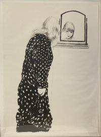 David Hockney A Lot More of Ann Combing Her Hair, 1979 Signed Lithograph