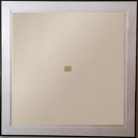 Gene Davis  Tom Thumb 1979 Large Fine Art Silkscreen (framed)