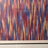 Gene Davis Signed 1980 Limited Edition Art Lithograph (Framed)