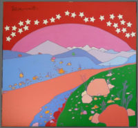 Peter Max, Landscape, Acrylic on Canvas 1970