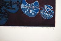 John Wolseley MIDNIGHT PATHOGENESIS etching with Aquatint
