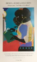 Brown Vs. Board Of Education (The Lamp) by Romare Bearden Signed