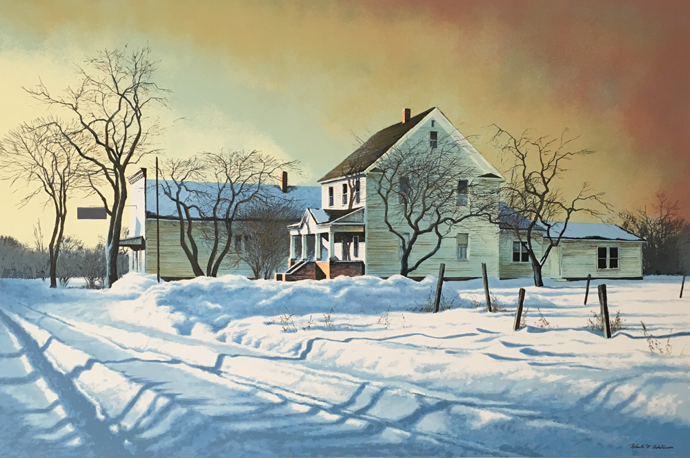 Robert Addison American Country Store 1977 Signed Lithograph Print