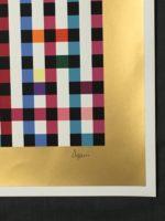 Yaacov Agam Multi Mag Signed Art Limited Edition Large Silkscreen