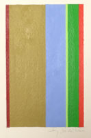Jay Rosenblum Signed Abstract Painting Core #10