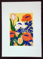 Ann T. Cooper Primavera 1980 Limited Edition Silkscreen