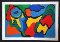 Karel Appel Sunny Parrot 1974 Signed Limited Edition Silkscreen