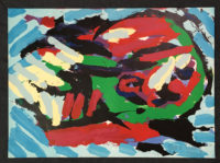 Karel Appel 1979 Signed Limited Edition Abstract Art 1979