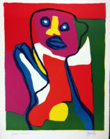 Karel Appel 1969 Signed Limited Edition Lithograph