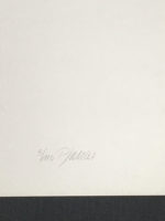 Georg Karl Pfahler 1970 Signed Limited Edition Silkscreen Hard Edge