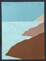 Peter Keefer Seascape 1981 Signed Limited Edition Suite Set Collographs