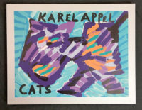 Karel Appel CATS 1979 Box Portfolio of 17 Signed Lithographs on Japan Paper with Book