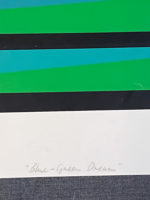 Michael Peel Signed Limited Edition Silkscreen 1968 Blue – Green Dream