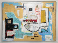 Jim Stella Mixed Media Painting 2015 The Wrong Kind Of Boy