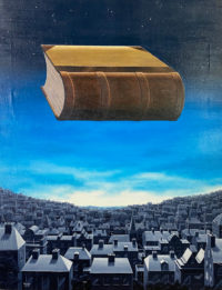 Michael Hased Oil on Canvas 1975 Other Inquisitions