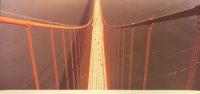 Ruffin Cooper Signed 1979 Ariel Golden Gate Bridge Large Chromogenic Photograph