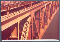 Ruffin Cooper Signed 1979 Large Photograph Golden Gate Bridge Limited Edition