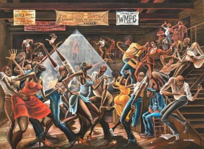 Ernie Barnes' 'Sugar Shack': Why museum-goers line up to see ex-NFL player's painting