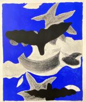 Georges Braque Oiseaux Verve 1955 Lithograph printed by Mourlot Paris
