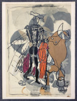 Georges Braque Verve 1955 Lithograph printed by Mourlot Paris