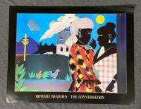 Romare Bearden The Coversation Rare Exhibition Poster