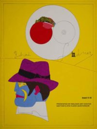 "Richard Lindner ""Walker Art Center""Original Poster Art"