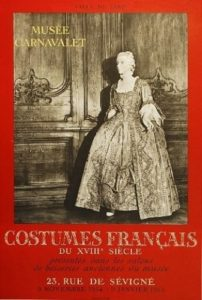 Costumes-Francais-Musee-Carnavalet-Original-Poster-Art-380442175602