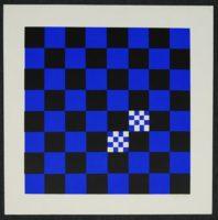 """Ian Tyson  Diversions V 1967 Art Print  Silkscreen  15"""" x 15"""""""