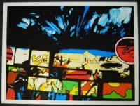John Hultberg  Fragments of a Dream 1977  Art Silkscreen on Somerset paper